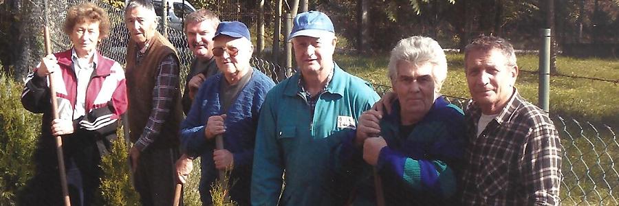 Elmúlt évek képei:  Nyugdíjas munka